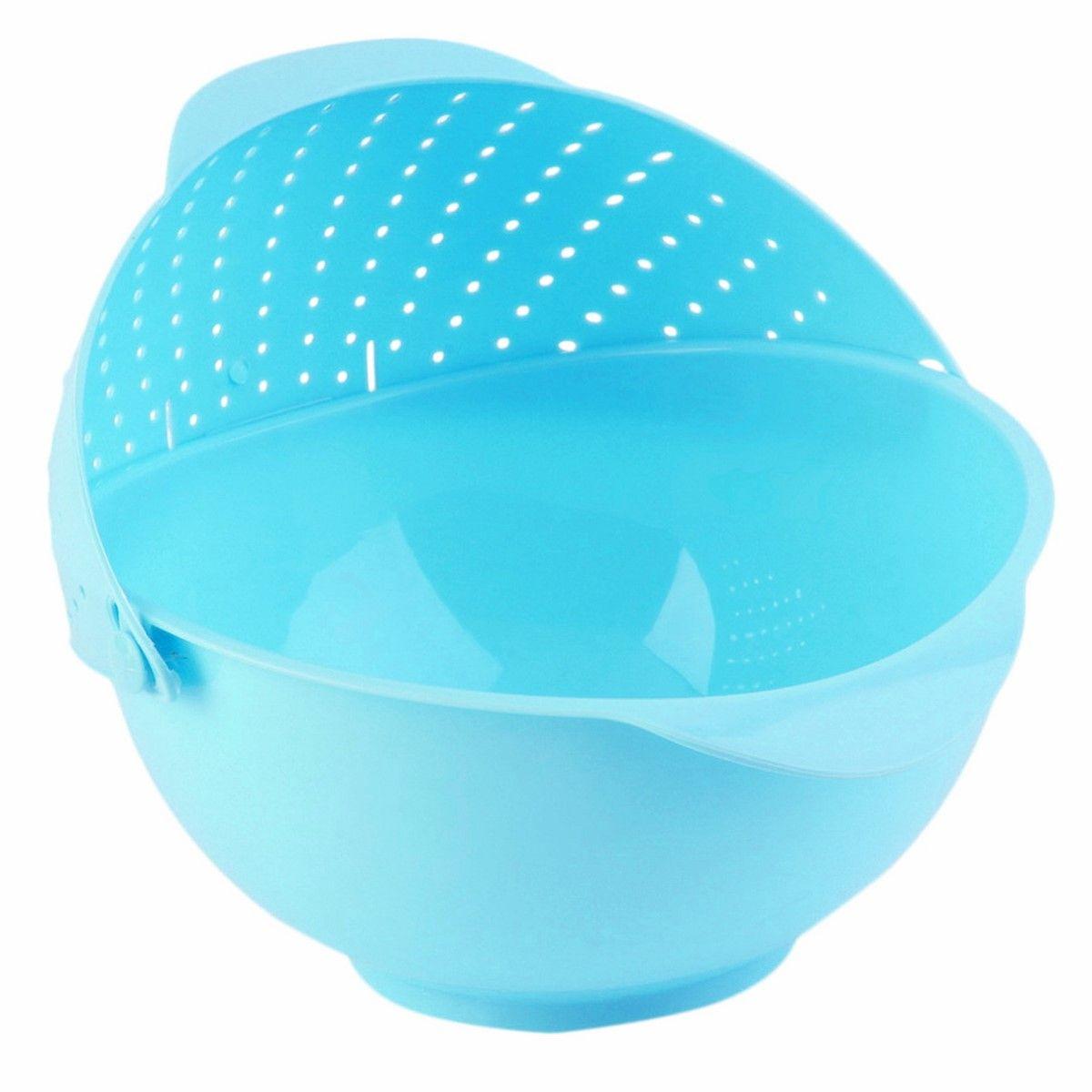 Дуршлаг-чаша Ruges Фильтрен, цвет: синий, 27 х 25 11 см
