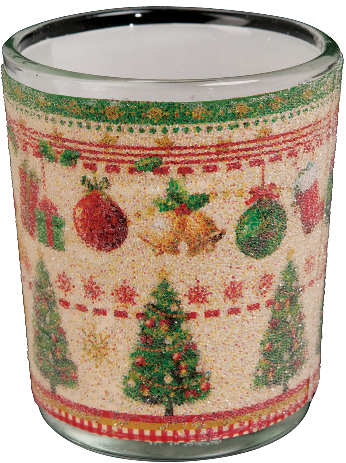 Подсвечник Erich Krause Рождественское дерево, для свечей-картриджей, 3,5 см радость праздника книга подарков и праздничных украшений для дома