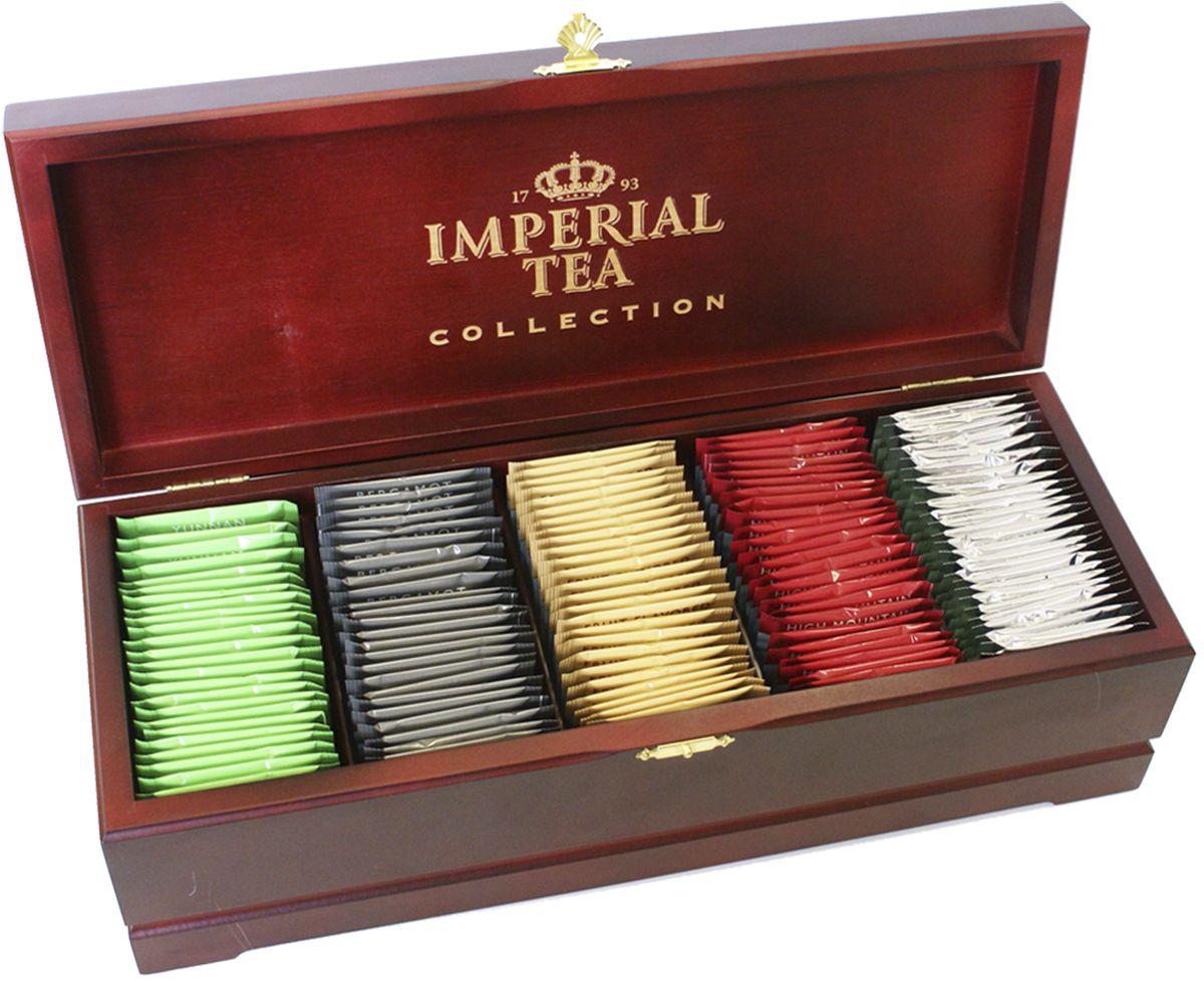 Императорский Чай Collection ассорти в деревянной шкатулке, 125 шт императорский чай collection фруктовый 25 шт