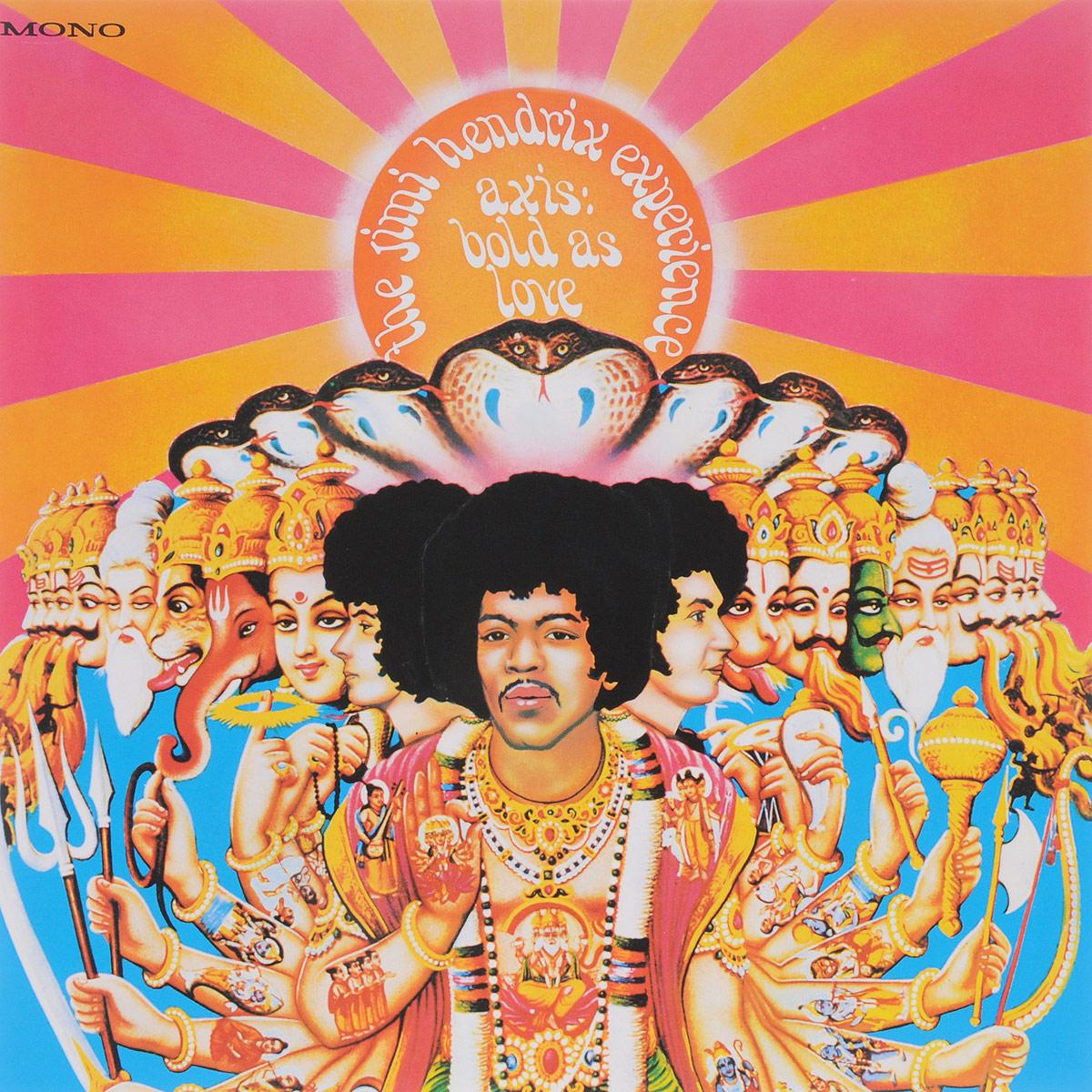 джими хендрикс jimi hendrix experience hendrix the best of jimi hendrix 2 lp Джими Хендрикс The Jimi Hendrix Experience. Axis. Bold As Love (LP)
