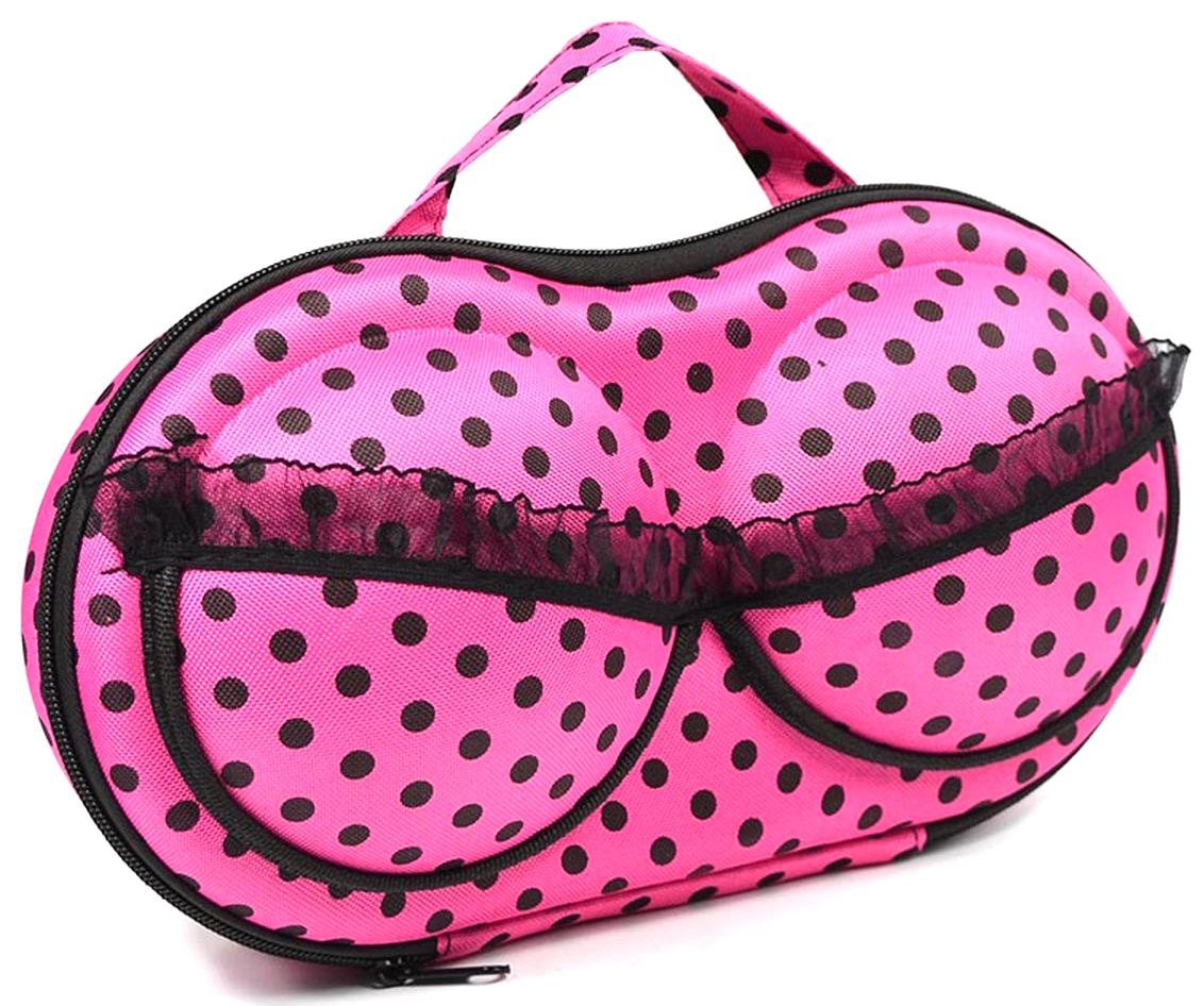 Чехол для хранения бюстгальтеров Ruges Бюсто, цвет: розовый, 35 х 32 х 5 см чехол для стирки бюстгальтеров ruges галант цвет белый 18 х 16 х 16 см