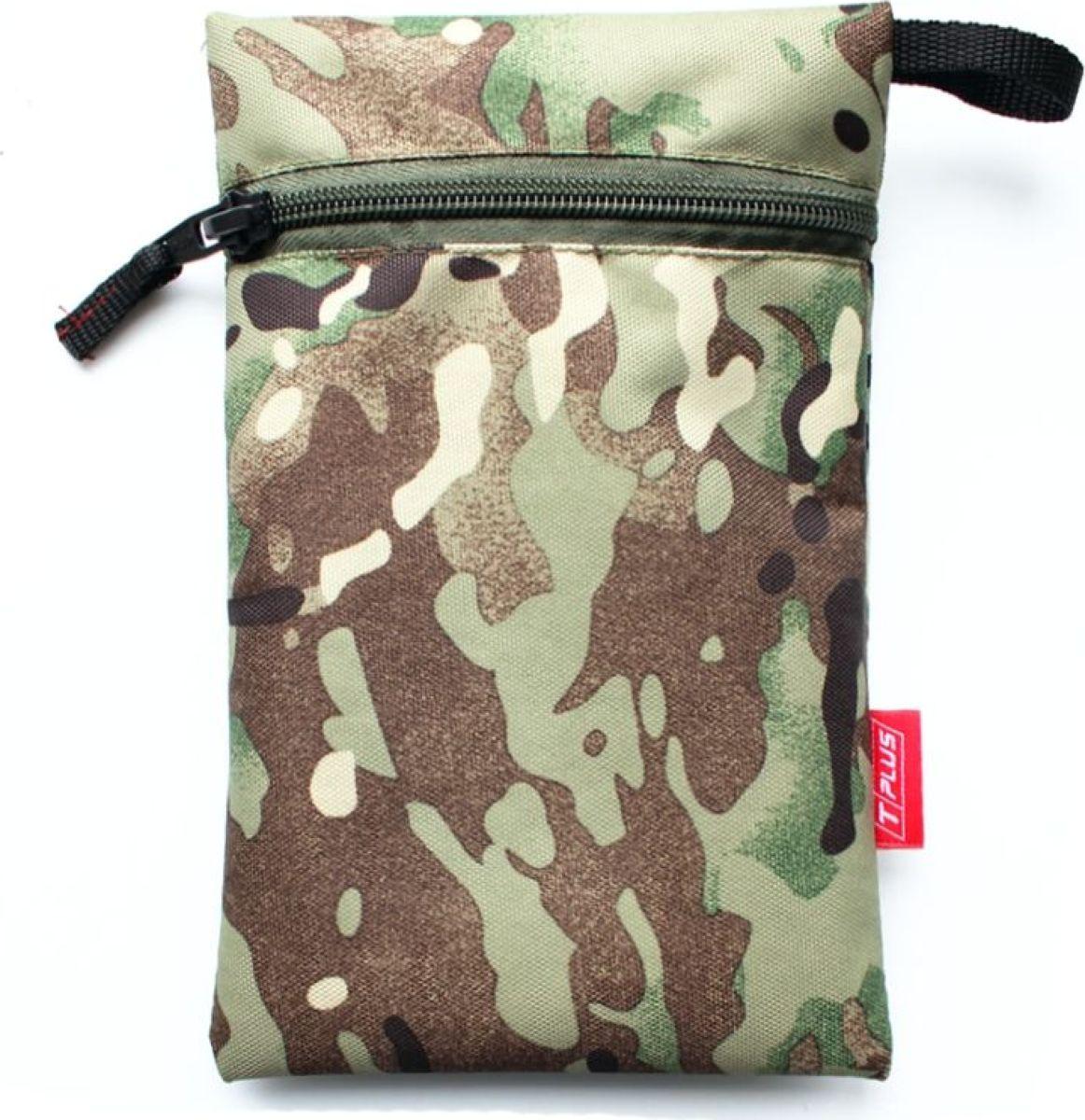 Мешок вещевой Tplus 600, цвет: мультиколор, 13 x 20 см сумка для такелажной оснастки tplus сompact t009399