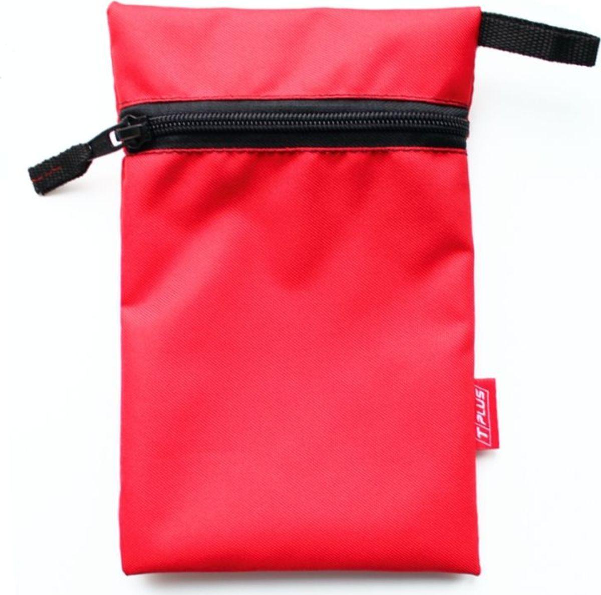 Мешок вещевой Tplus 600, цвет: красный, 13 x 20 см сумка для такелажной оснастки tplus сompact t009375