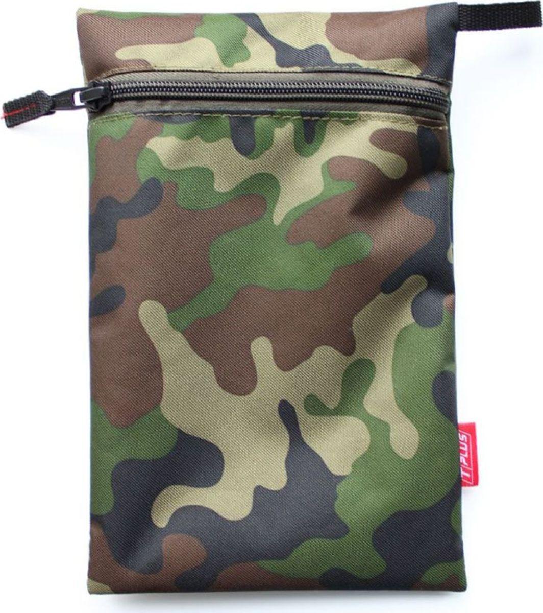 Мешок вещевой Tplus 600, цвет: нато, 15 x 23 см сумка рыбака tplus 600 цвет цифра 40 x 22 x 24 см