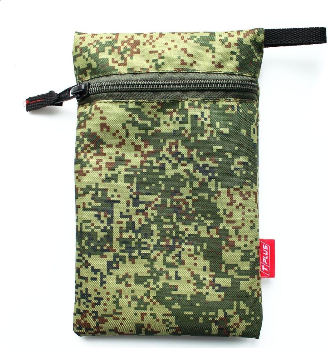 Мешок вещевой Tplus 600, цвет: цифра, 15 x 23 см сумка для такелажной оснастки tplus сompact t009399