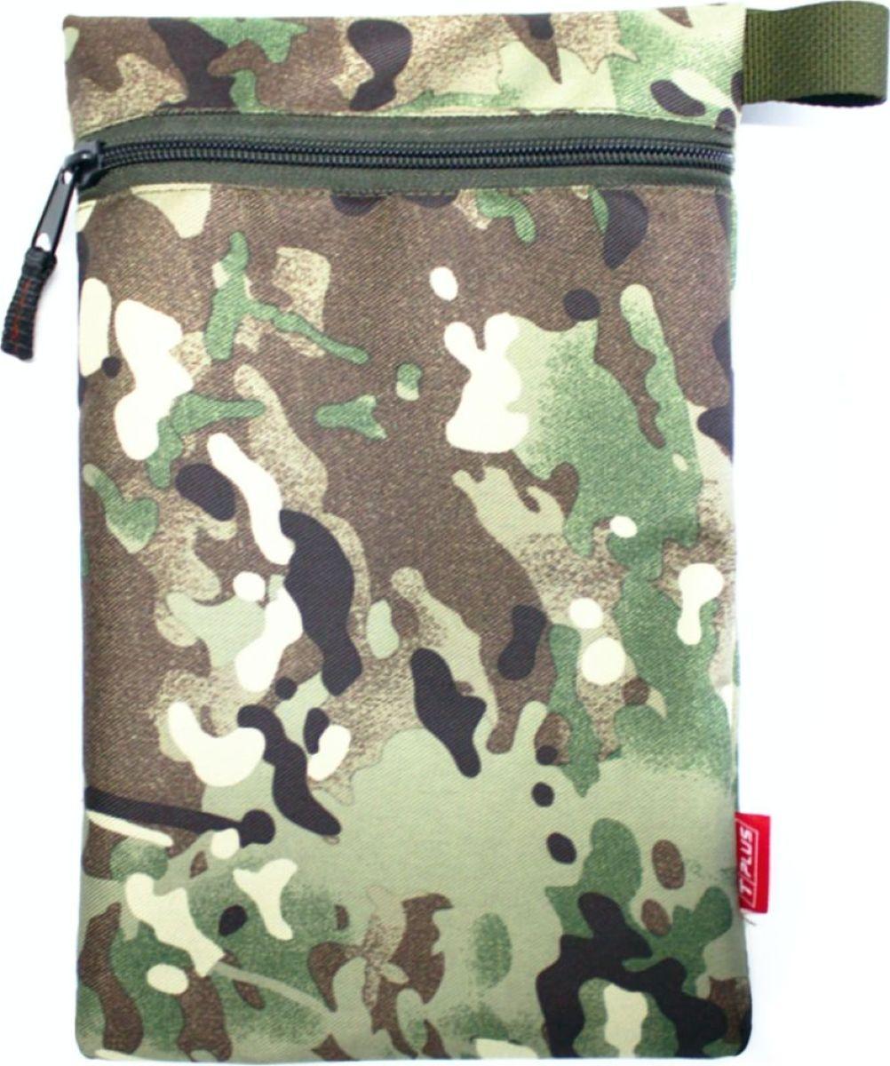 Мешок вещевой Tplus 600, 20 x 31 см, цвет: нато сумка для такелажной оснастки tplus сompact t009399