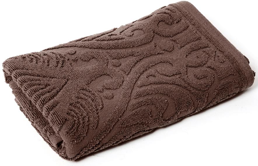 Полотенце для ванной Wess Zelidzh, цвет: коричневый, 50 х 80 см ершик для туалета wess zelidzh с подставкой цвет коричневый g79 77