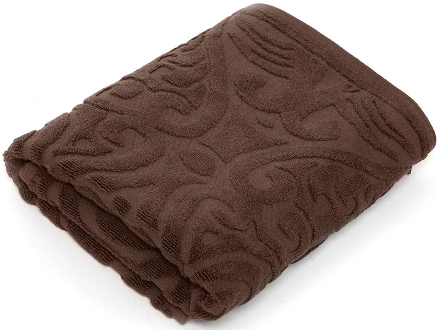 Полотенце для ванной Wess Zelidzh , цвет: коричневый, 70 х 140 см ершик для туалета wess zelidzh с подставкой цвет коричневый g79 77