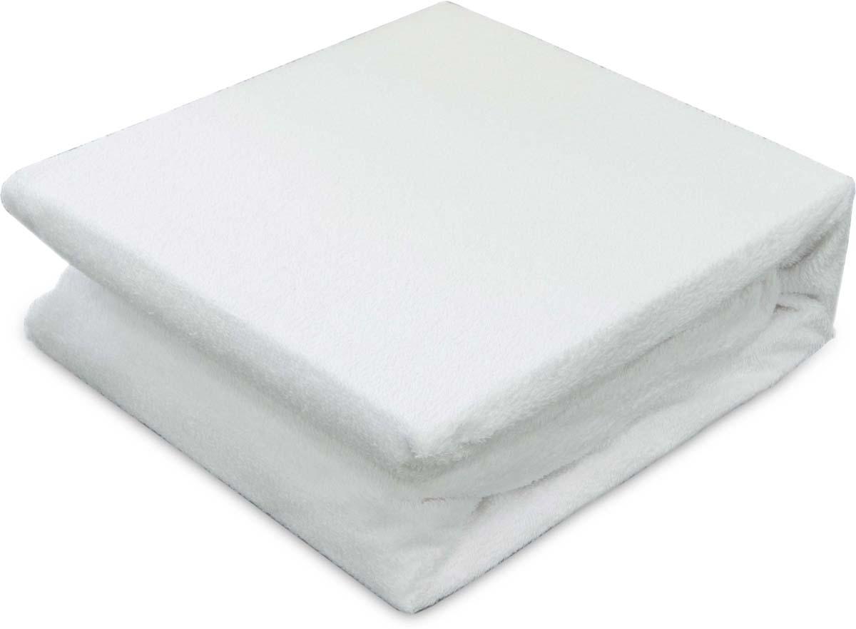 """Чехол на матрас Revery """"Cotton Terry"""", цвет: белый, 120 х 60 см"""