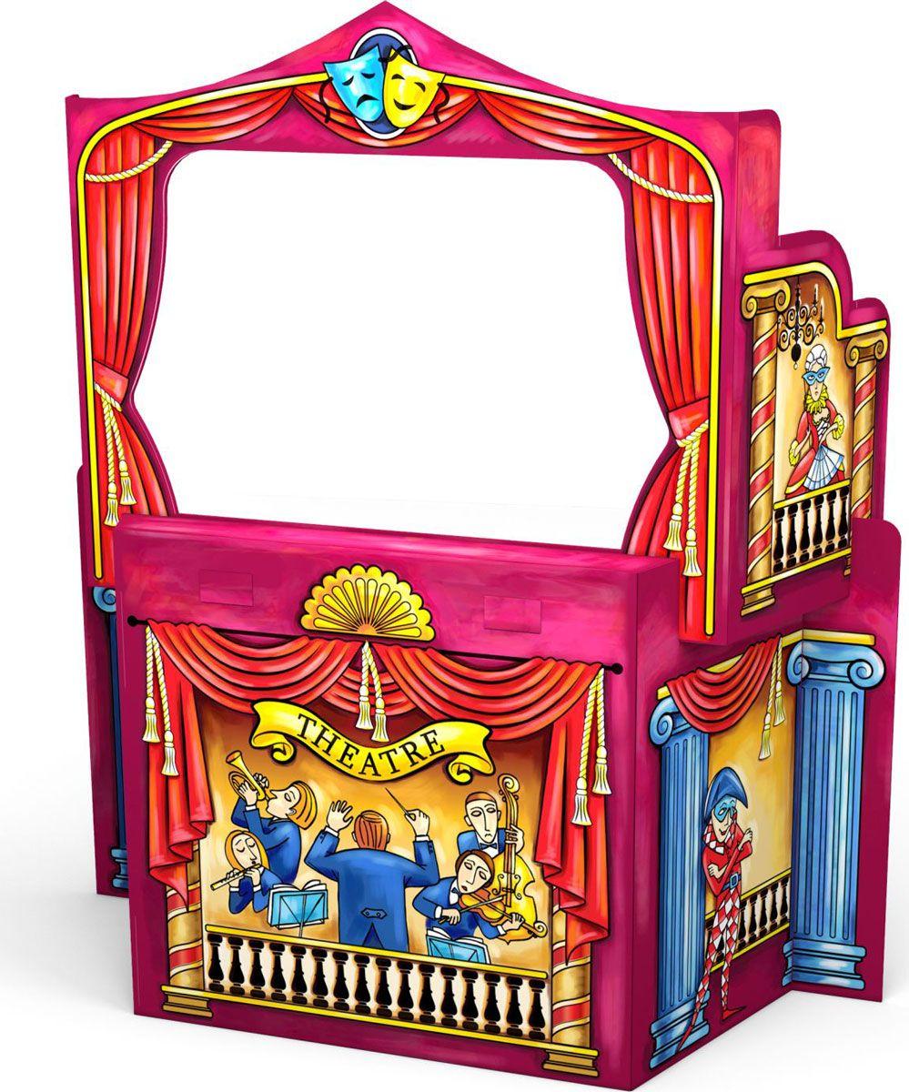 игровые домики little tikes игровой мульти домик 444d Игровой конструктор для раскрашивания Artberry Puppet Theatre