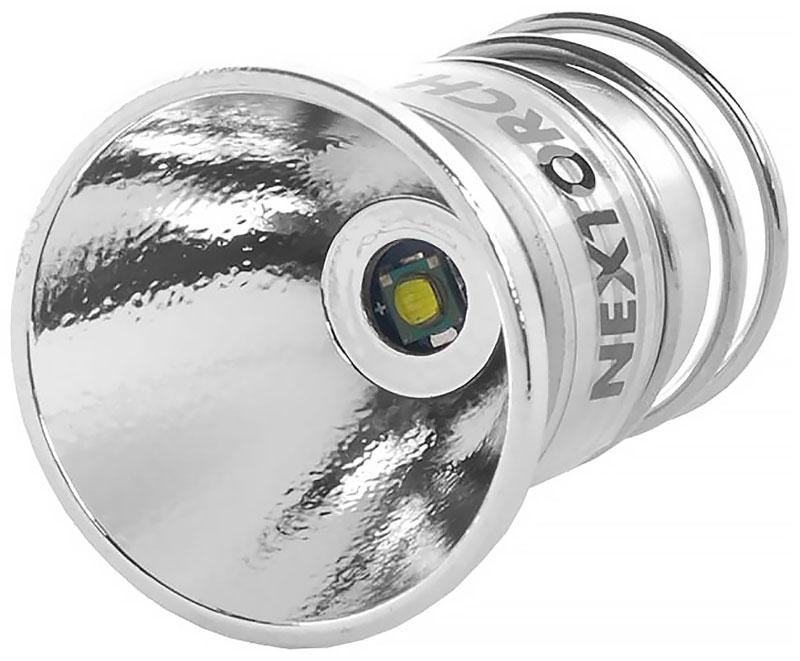 Запасная лампа Nextorch Cree L66 R5, для тактических фонарей T6A, T6A-LED, RT7, RT3, GT6A-S, цвет: серый металлик