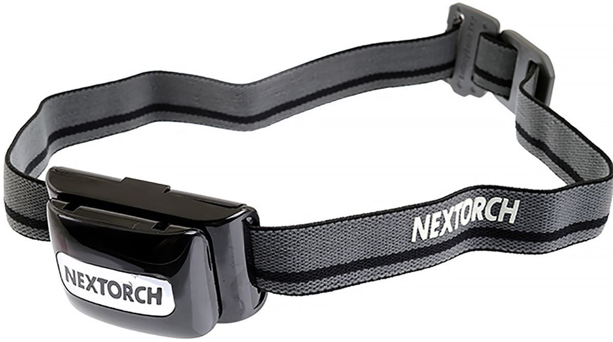 "Фонарь налобный Nextorch ""Light Star"", цвет: черный, серый"
