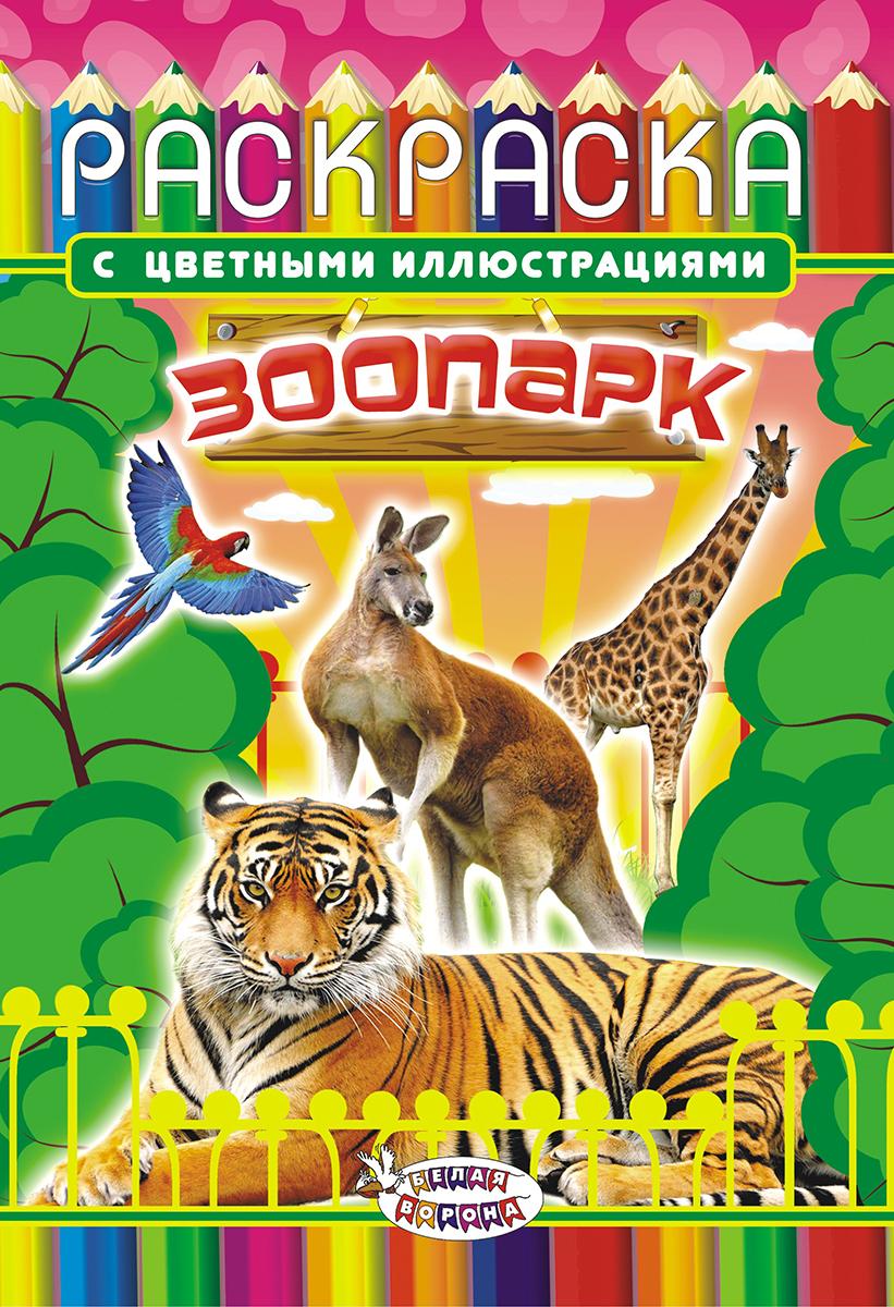 ЛиС Раскраска Зоопарк