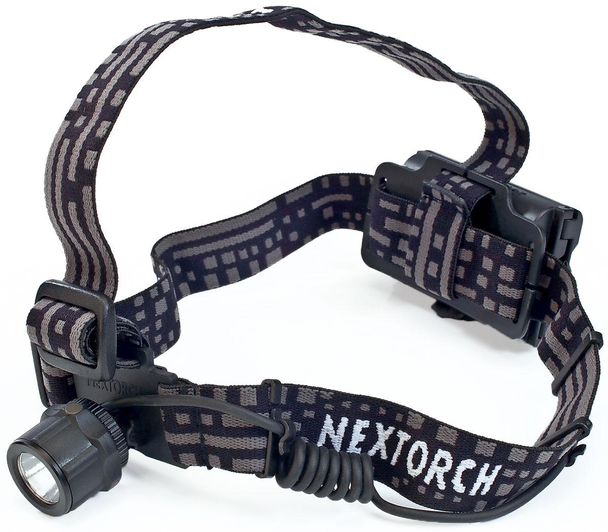 Фонарь налобный Nextorch Viker Star, цвет: черный налобный фонарь robens cheviot 90 люм