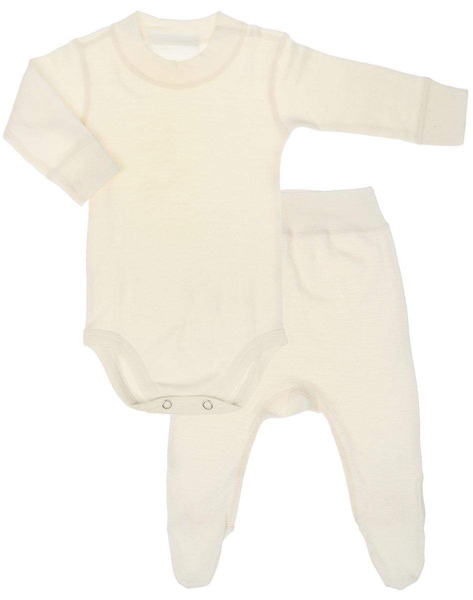 Термобелье комплект Dr. Wool комплект термобелья женский dr wool лонгслив брюки цвет серый меланж dwl 20102 размер 48 50