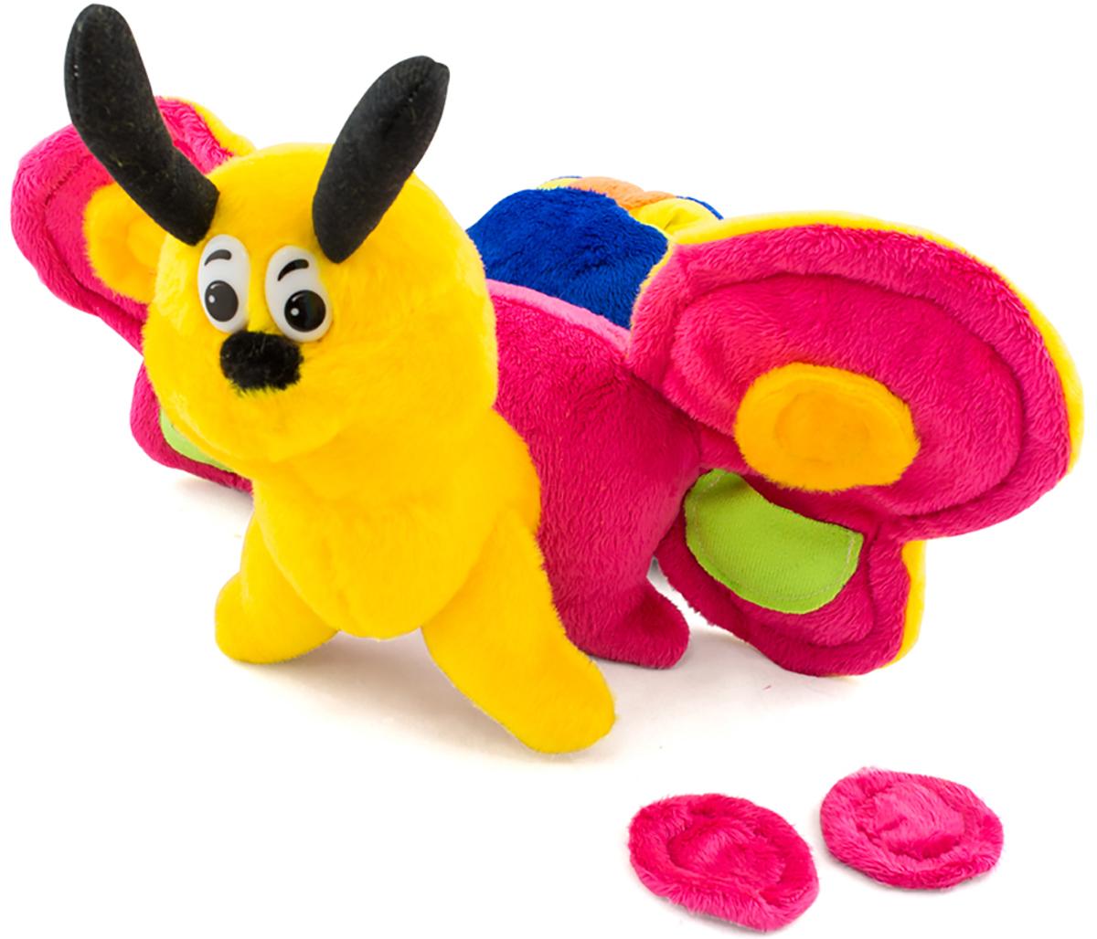 PicnMix Развивающая игрушка Гусеница-бабочка Веселые застежки игрушка трансформер happy baby гусеница