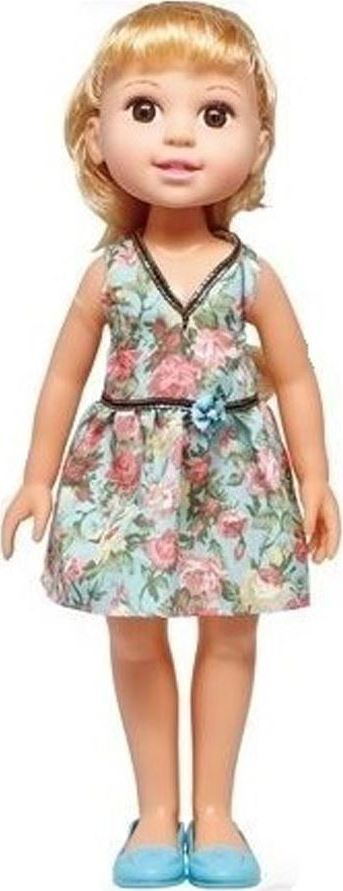 1TOY Кукла Красотка Летняя прогулка, брюнетка в голубом платье