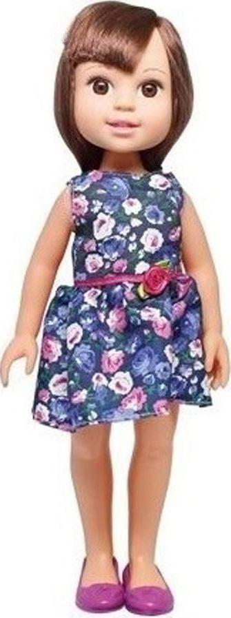 1TOY Кукла Красотка Летняя прогулка, брюнетка в синем платье