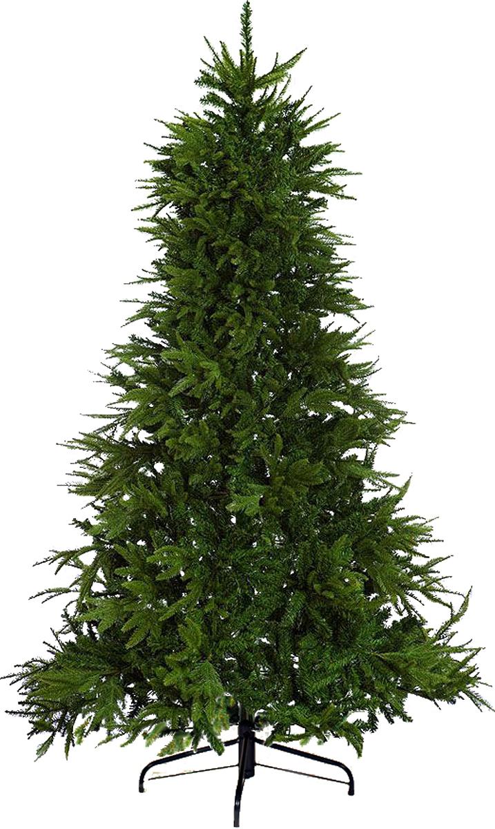 Ель искусственная Crystal Trees Приморская KP7213, высота 130 см ель новогодняя crystal trees 2 3 м питерская kp8123