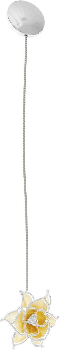 Подхват для штор TexRepublic Ajur. Tross, на магнитах, цвет: бежевый, 20 см. MI A223-3 texrepublic материал жаккард birch цвет бежевый