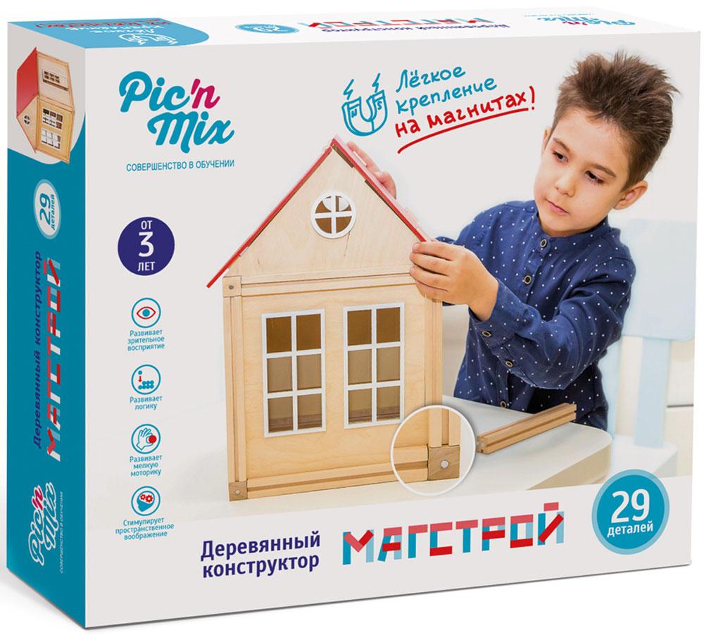 PicnMix Конструктор Магстрой 128001