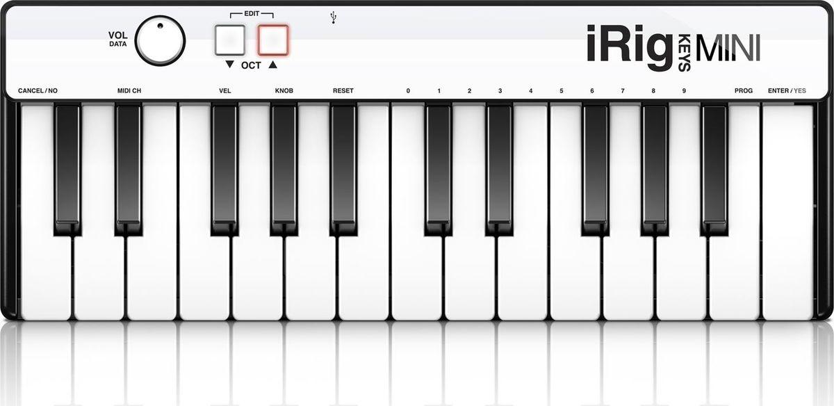 IK Multimedia iRig Keys Mini, Black MIDI-клавиатура ik multimedia irig 2