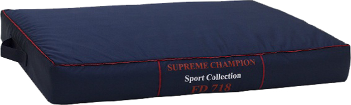 Лежак FunDays Спорт, цвет: синий, 10 x 60 x 75 см лежак матрац fundays спорт синий 10х60х75 см