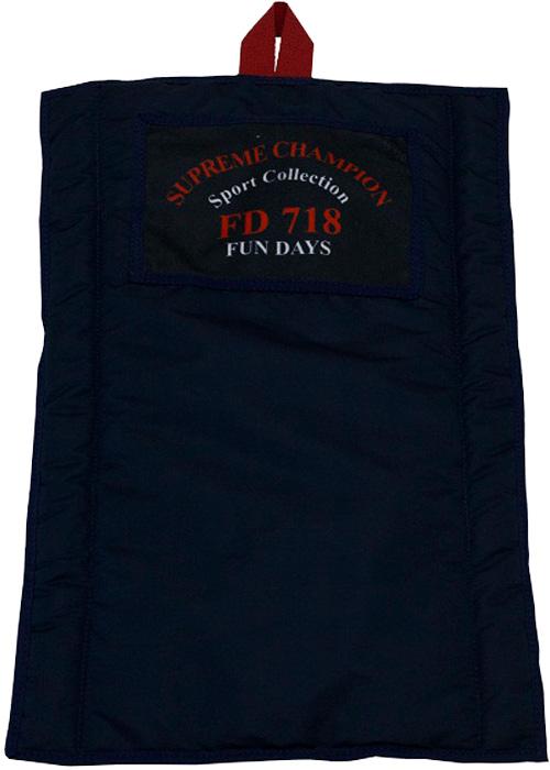 Лежак-одеяло FunDays Спорт, цвет: синий, 60 x 40 см лежак матрац fundays спорт синий 10х60х75 см
