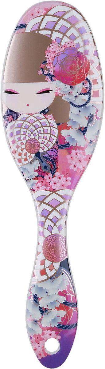 Kimmidoll Расческа для волос, цвет: розовый. KF1170 цена