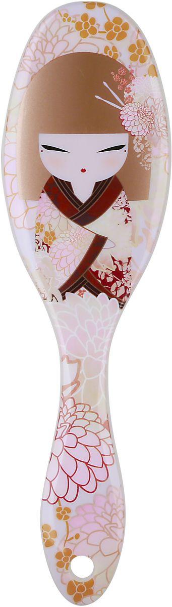 Kimmidoll Расческа для волос, цвет: светло-розовый. KF1171 цена