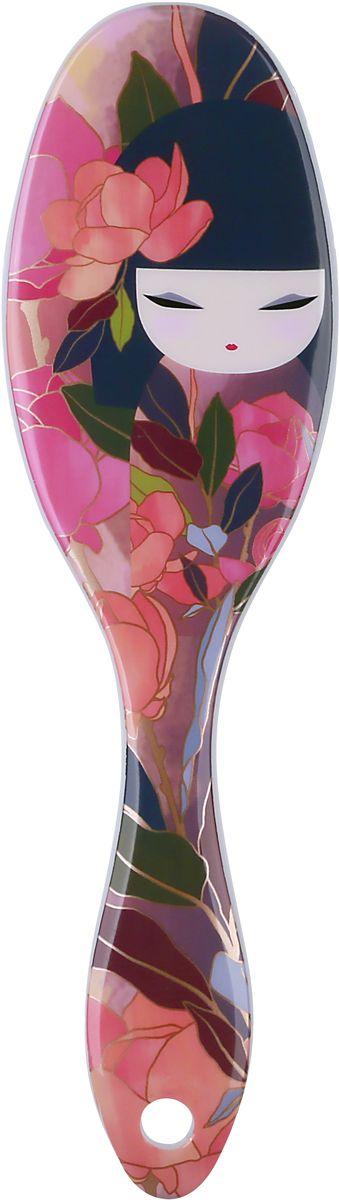 Kimmidoll Расческа для волос, цвет: розовый. KF1172 цена