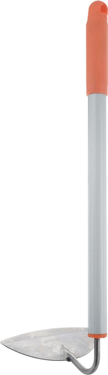 Тяпка Skrab, полукруглая, цвет: оранжевый. 28070 тяпка skrab полукруглая телескопическая ручка 1 м 28073