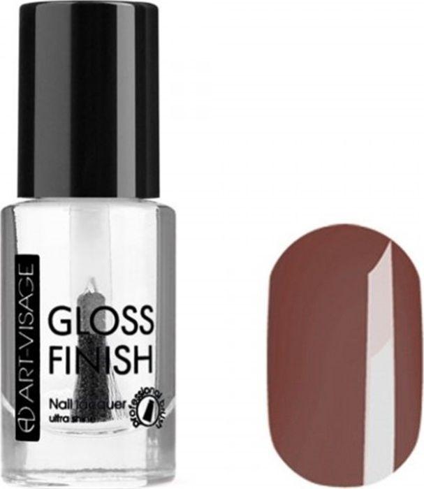 Art-Visage Лак для ногтей Gloss Finish nail lacquer, тон 114, 8,5 мл042775Новейшая гелевая текстура лака обеспечивает плотное нанесение, высокую стойкость, а также длительный мокрый эффект цвета на ваших ногтях! Красивый глянцевый цвет после первого нанесения. Безупречные ногти минимум 4 дня. Без формальдегида и толуола. Как ухаживать за ногтями: советы эксперта. Статья OZON Гид