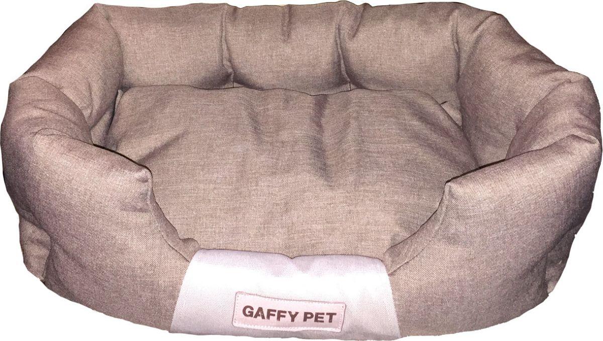 """Лежак для животных Gaffy Pet """"One"""", цвет: латте, 55 х 35 х 23 см"""