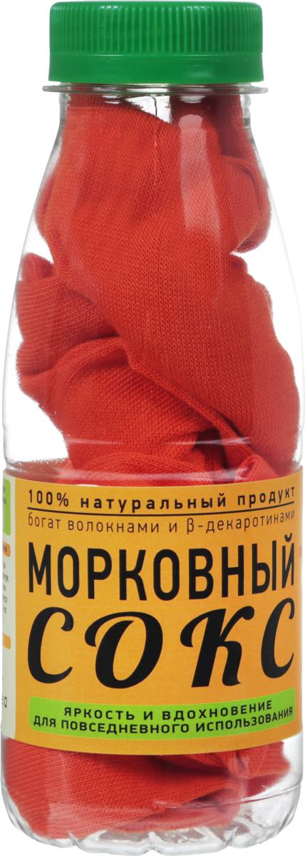 Носки Бюро находок Морковный сокс  Лайт цвет  оранжевый размер 27