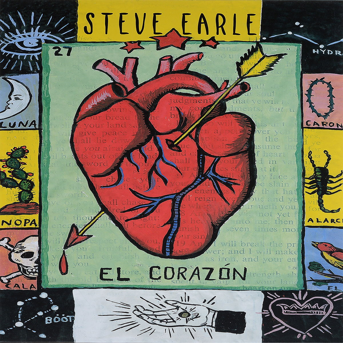 Стив Эрль Steve Earle. El Corazon (LP) steve earle vancouver