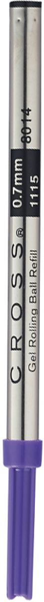 Cross Стержень для ручки-роллера стандартный средний цвет чернил фиолетовый parker стержень для ручки роллера цвет черный