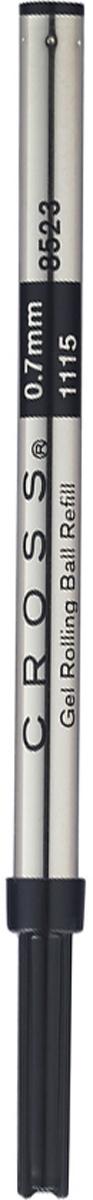 Cross Стержень для ручки-роллера стандартный средний цвет чернил черный parker стержень для ручки роллера цвет черный