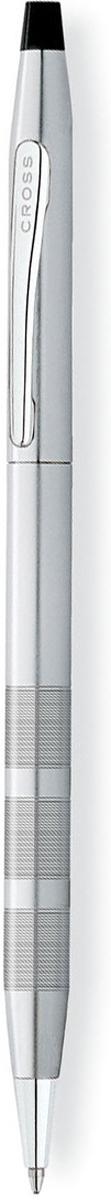 Cross Ручка шариковая Century Classic цвет корпуса: темно-серебристый cross ручка шариковая bailey черная цвет корпуса серебристый
