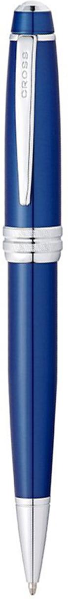 Cross Ручка шариковая Bailey черная цвет корпуса синий цены