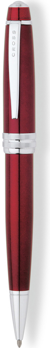 Cross Ручка шариковая Bailey цвет корпуса красный cross многофункциональная ручка tech3 цвет корпуса золотистый