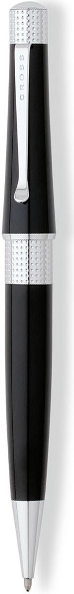 Cross Ручка шариковая Beverly черная цвет корпуса черный cross ручка шариковая bailey черная цвет корпуса серебристый