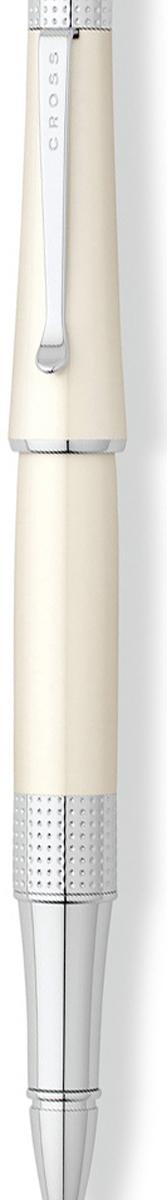 Cross Ручка-роллер Selectip Beverly черная цвет корпуса белый cross ручка шариковая bailey черная цвет корпуса серебристый