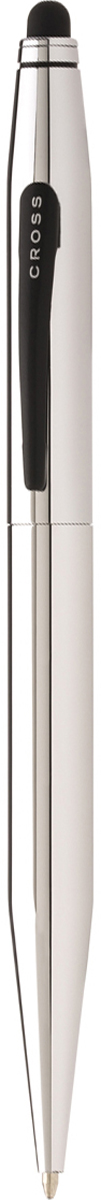 Cross Ручка шариковая Tech2 со стилусом черная цвет корпуса серебристый цена