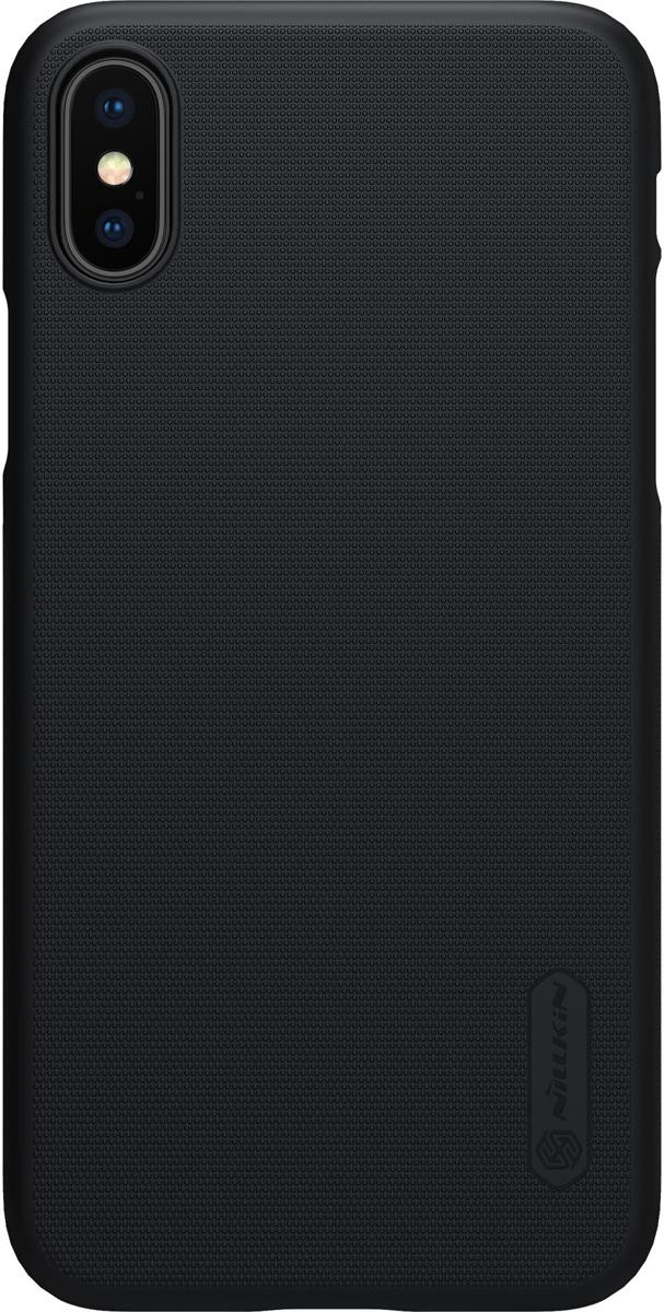 Nillkin Super Frosted Shield накладка для Apple iPhone X, Black накладка nillkin super frosted shield для samsung galaxy mega 6 3