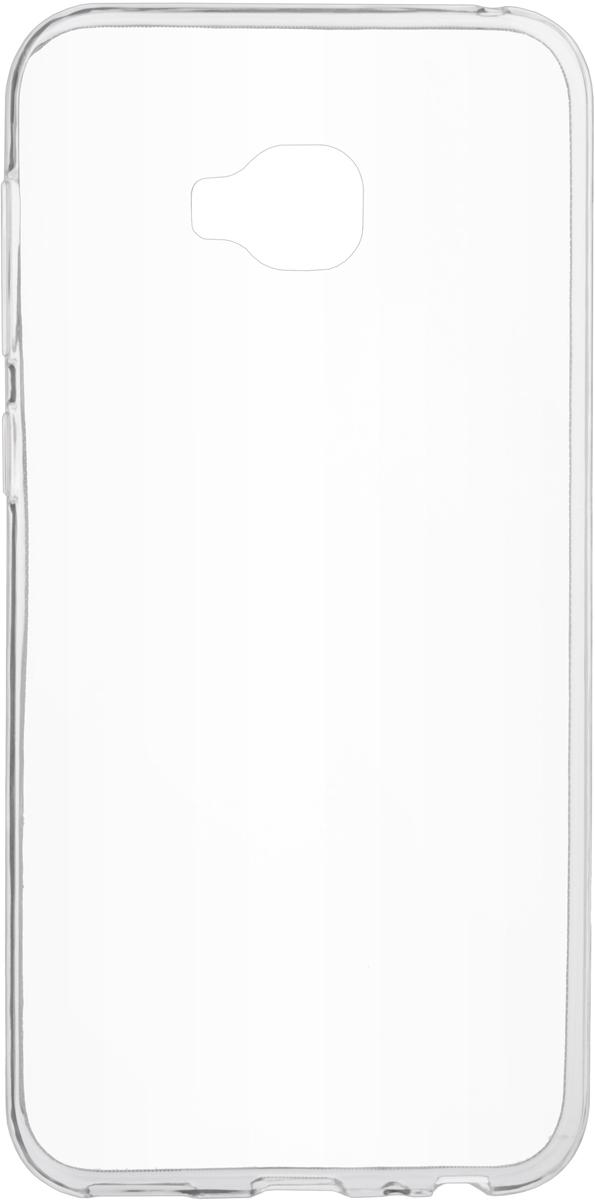 Skinbox Slim Silicone Case 4People чехол для Asus Zenfone 4 Selfie Pro (ZD552KL), Transparent цена и фото