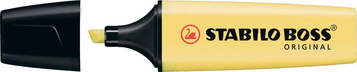 STABILO Текстовыделитель Boss Original Pastel цвет ваниль stabilo набор текстовыделителей boss pastel 4 цвета page 10