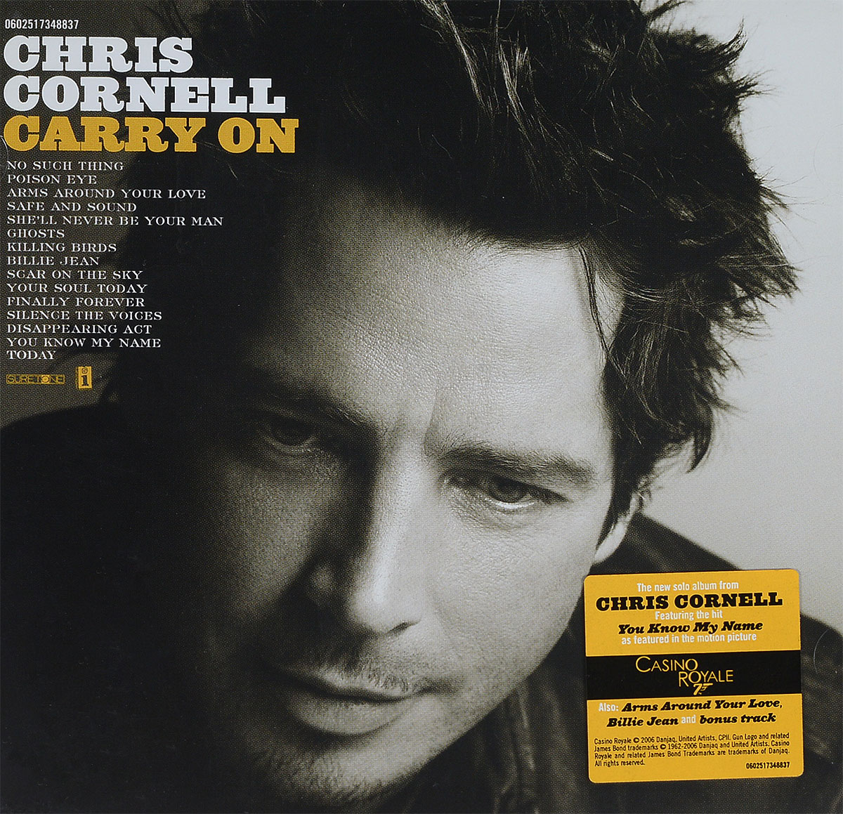 Крис Корнелл Chris Cornell. Carry On цена в Москве и Питере