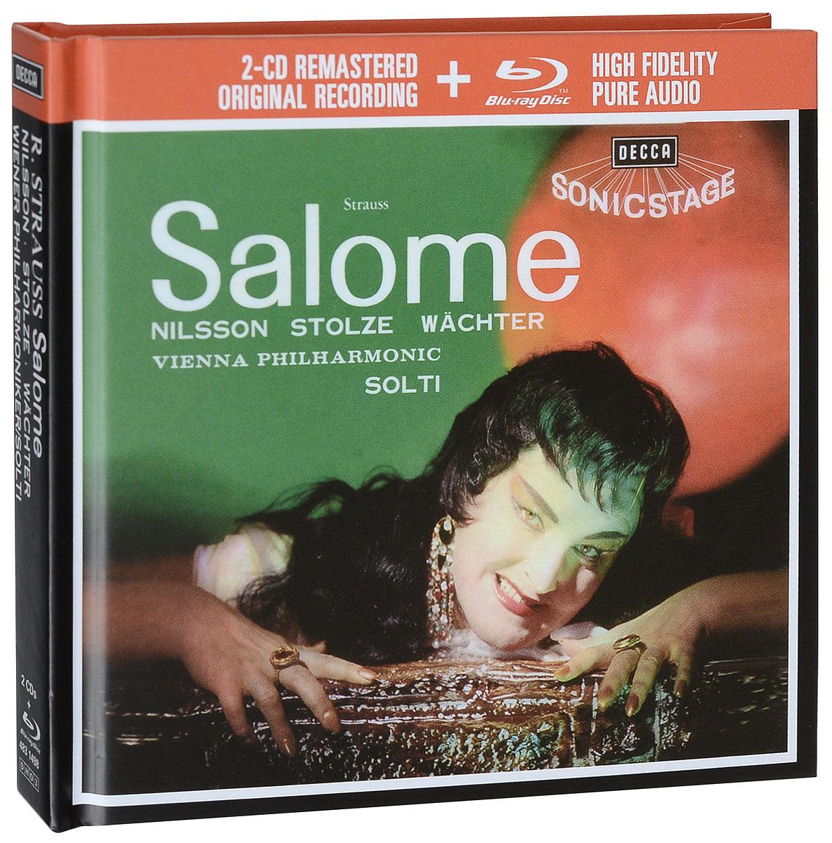 Бирджит Нильссон,Георг Шолти Birgit Nilsson. Sir Georg Solti. Salome (2 CD + Blu-Ray) бирджит нильссон birgit nilsson la nilsson 79 cd 2 dvd