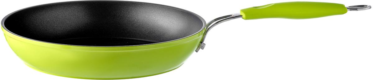 Сковорода Esprado Ritade, с антипригарным покрытием, цвет: зеленый. Диаметр 22 см цена
